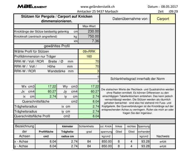 Downloads archiv heinz z nd for Statik auflager berechnen